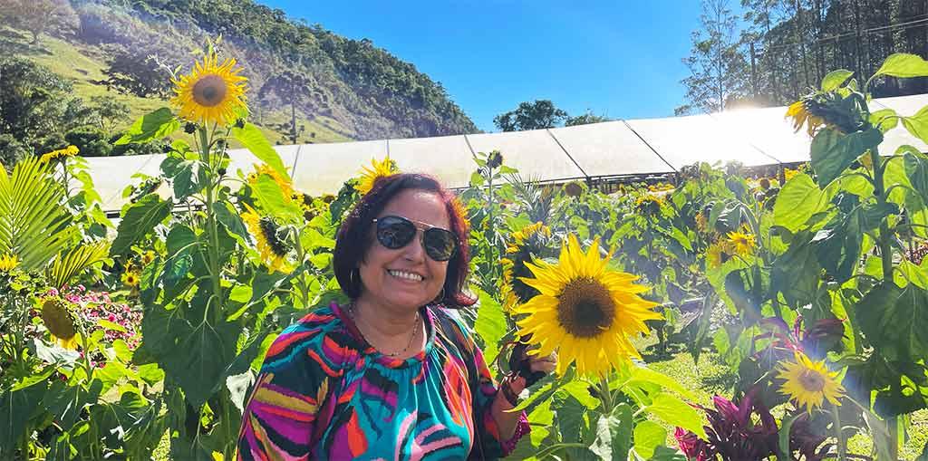 Excursão para Nova Friburgo com Flores e Morangos